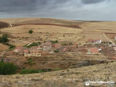 Yacimiento celtíbero de Tiermes y Hoz de Ligos;bosque en madrid toledo rutas